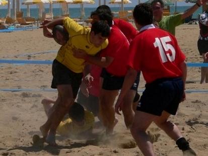 Valchiampo Rugby in azione a Bibione